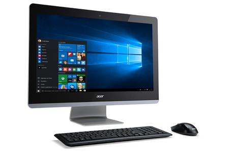 Pc de bureau acer aspire z3 715 003 darty - Ordinateur de bureau darty ...