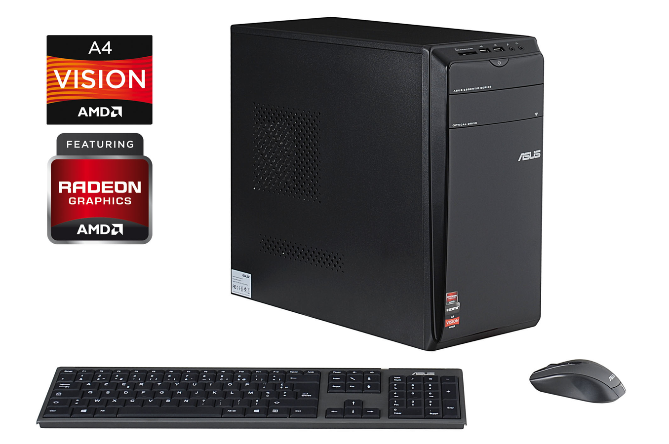 Pc de bureau asus cm1735 fr003s 3794113 darty - Ordinateur de bureau darty ...