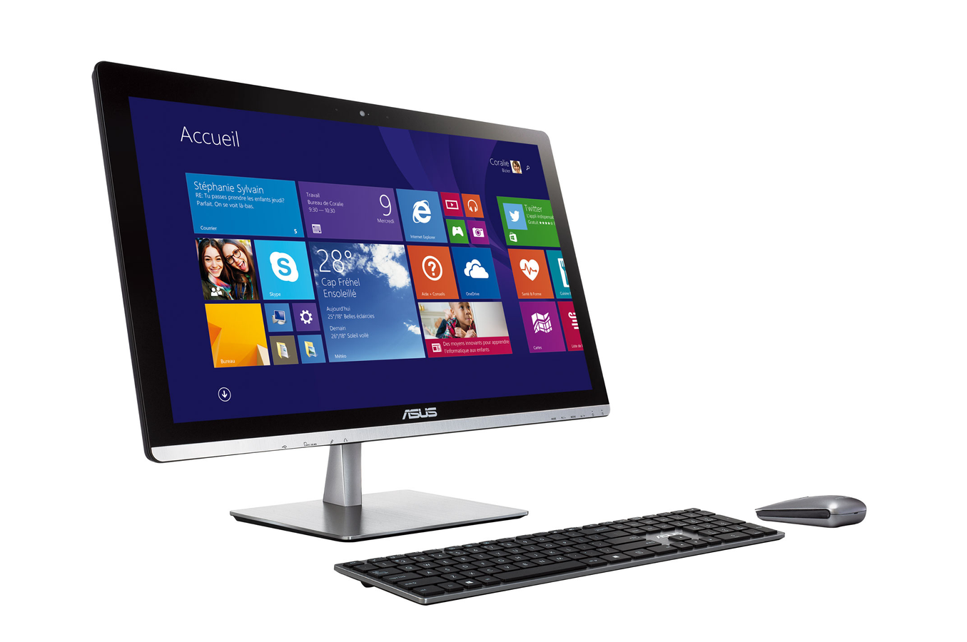 Pc de bureau asus et2321inth b074q 4073630 darty - Ordinateur de bureau darty ...