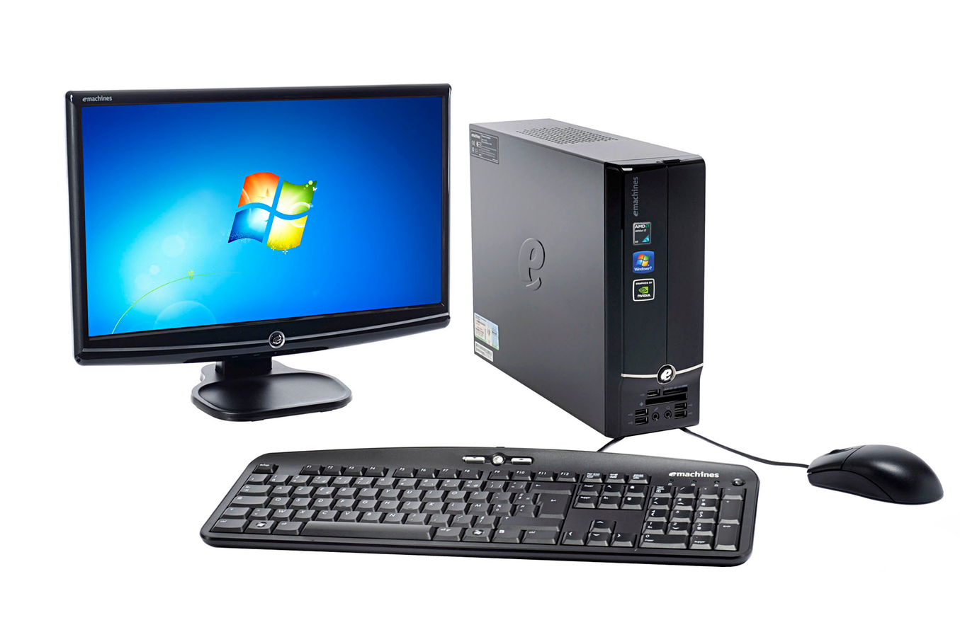 pc de bureau emachines el1352 019 20 quot el1352 019ob20 quot 3307620 darty