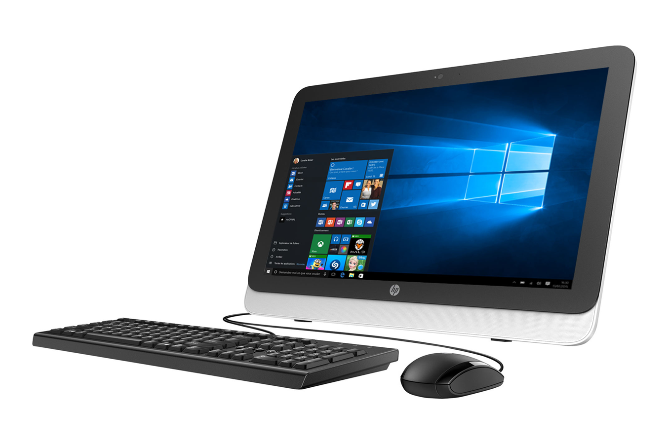 pc de bureau hp 20 r101nf 4168569 darty