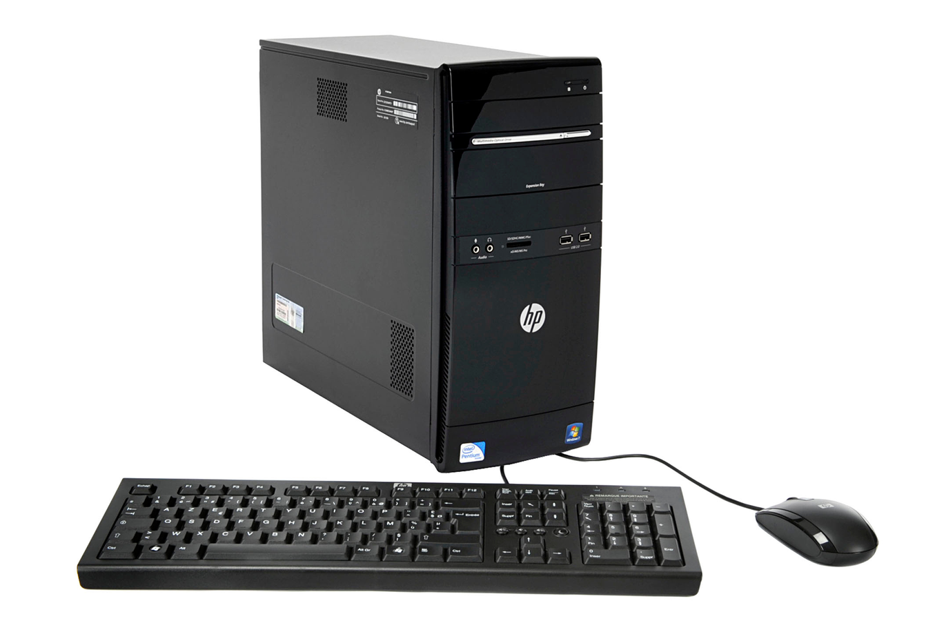 Pc de bureau hp g5135 3296121 darty - Darty informatique pc bureau ...