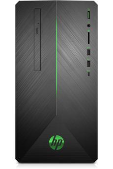 ordinateur de bureau hp darty. Black Bedroom Furniture Sets. Home Design Ideas