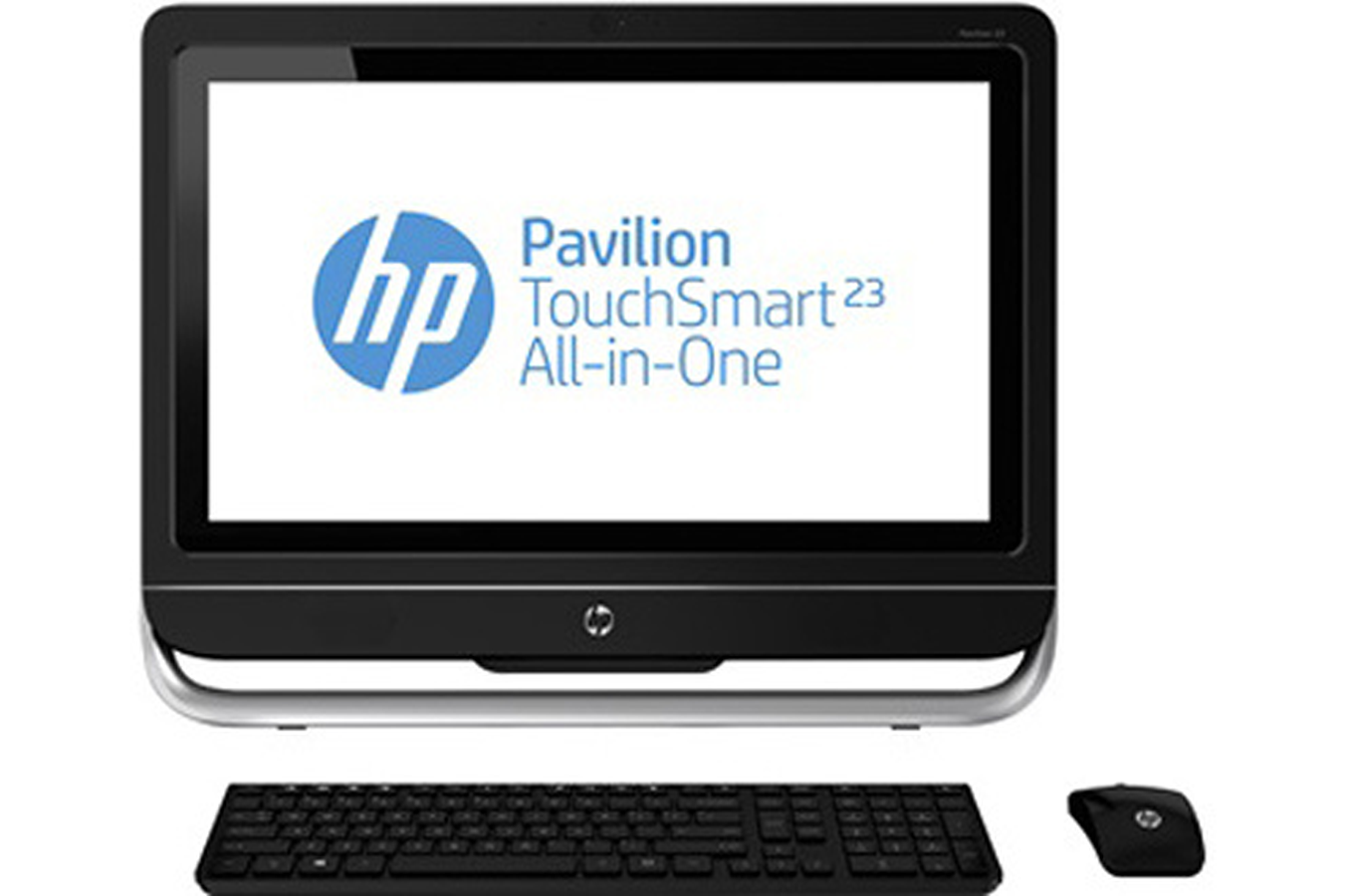 pc de bureau hp pavilion touchsmart 23 f210ef. Black Bedroom Furniture Sets. Home Design Ideas