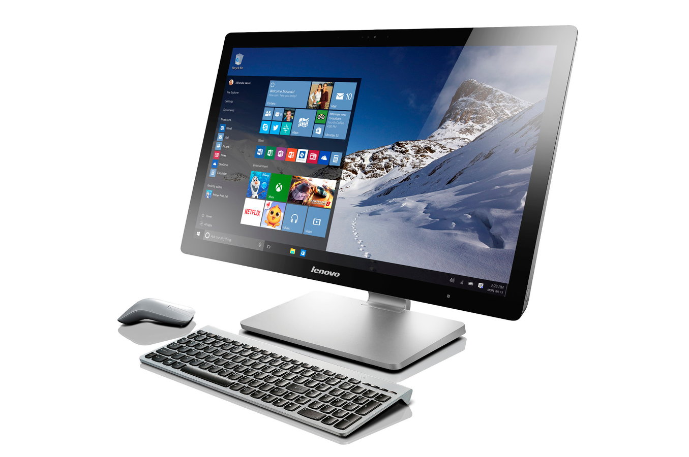 Pc De Bureau Lenovo A740 F0am00a3fr 4220978 Darty