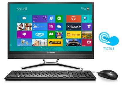 PC de bureau Lenovo C460 TOUCH 57323337 3827682 Darty