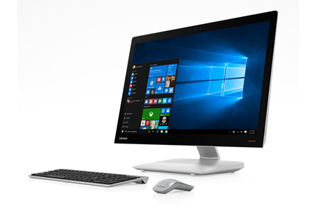 Pc de bureau lenovo aio ish darty