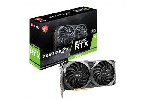 GeForce RTX 3060 VENTUS 2X 12G OC