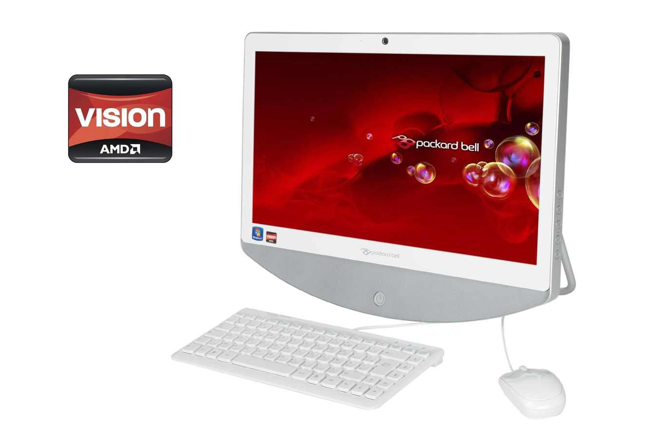 Pc de bureau packard bell one two s a4003 fr - Ordinateur de bureau packard bell ...