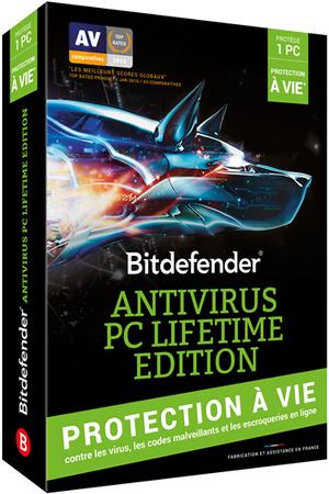 logiciel bitdefender antivirus pc lifetime edition darty. Black Bedroom Furniture Sets. Home Design Ideas