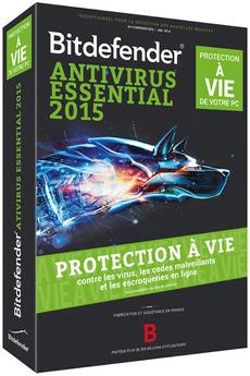 Logiciel BIT DEFENDER ANTIVIRUS 2015 A VIE-1P Bitdefender