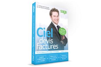 Logiciel DEVIS FACTURES SF 2016 Ciel