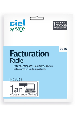 Ciel FACTURAT°FACILE 2015