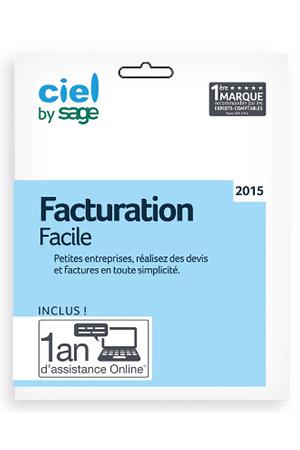 Logiciel ciel facturat facile 2015 cfccl0004 darty for Logiciel facile