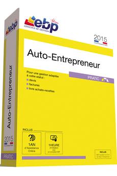 Logiciel Auto-Entrepreneur Pratic 2015 + Services VIP Ebp