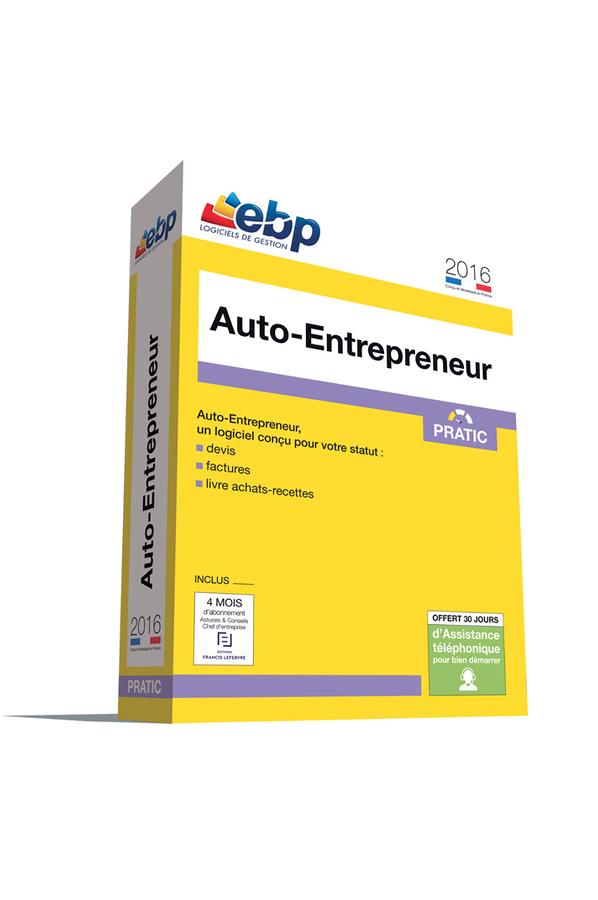 Logiciel ebp auto entrepreneur 2016 gamme pratic 4160592 for Logiciel garage auto entrepreneur