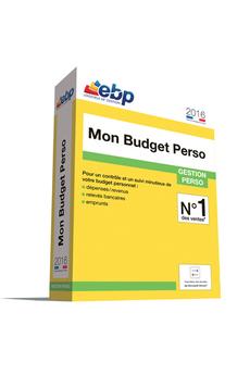 Logiciel Mon Budget Perso 2016 Ebp