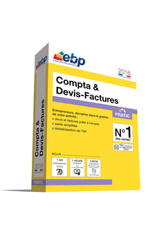 Logiciel COMPTA DEVIS PRATIC 2016 VIP Ebp