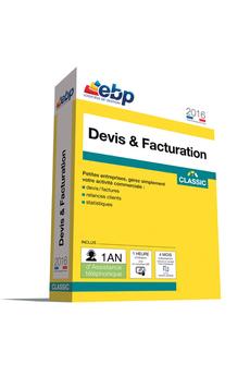 Logiciel Devis & Facturation Classic 2016 VIP Ebp