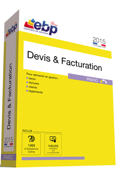 Logiciel Devis & Facturation Pratic 2015 Ebp