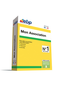 Logiciel MON ASSOCIATION 2016 Ebp