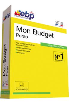 Logiciel Mon Budget Perso 2015 Ebp