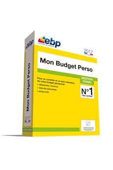 Logiciel MON BUDGET PERSO Ebp