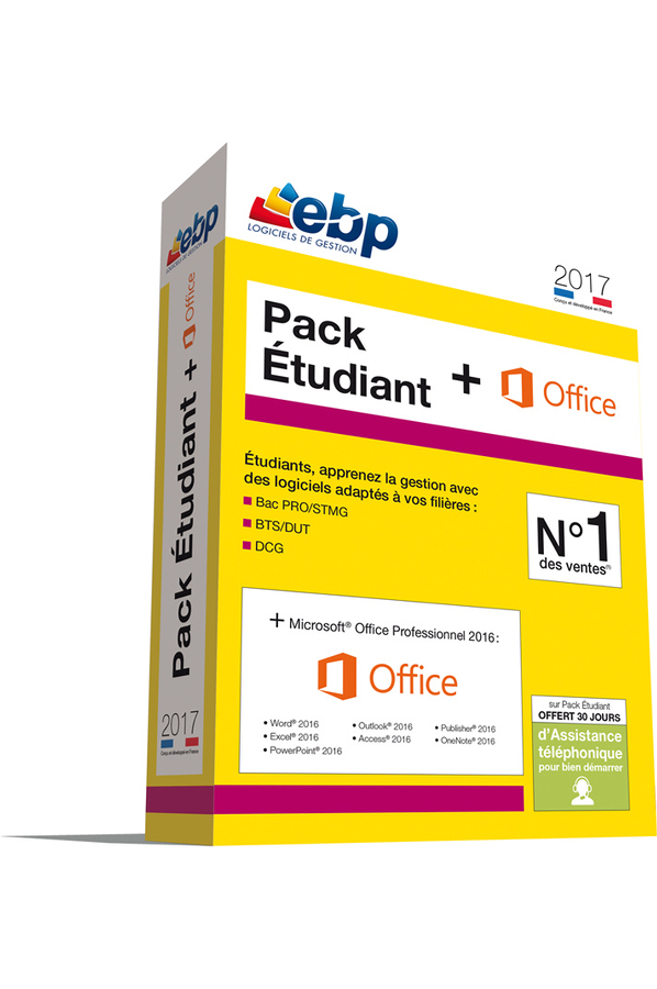 Logiciel ebp pack etudiant office 2017 pack etudiant office 2017 4270550 darty - Pack office etudiant 2013 ...