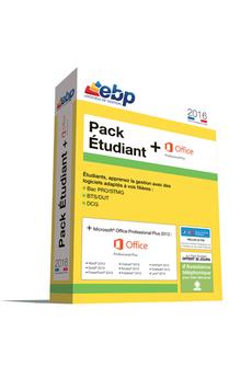 Logiciel Pack Etudiant Office 2016 Ebp