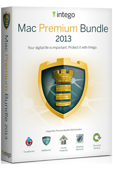 Logiciel Intego MAC PREMIUM BUNDLE 2013
