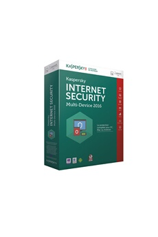 Logiciel Internet Security 2016 1 Poste / 1 An Kaspersky