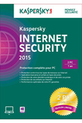 Kaspersky Internet Security 2015 (2 postes / 1 an) - Edition Limitée