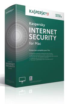 Kaspersky Internet Security 2015 MAC (1 poste/1an)