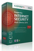 Logiciel Kaspersky INTERNET SECURITY MULTI-DEVICE 2015 - 3 APPAREILS / 1 AN