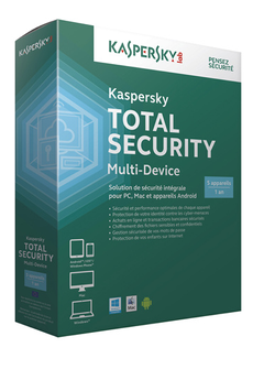 Logiciel Kaspersky Total Security Multi-Device Kaspersky