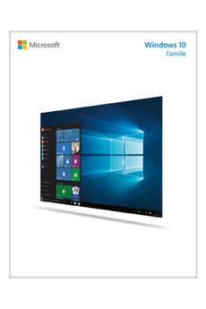 Logiciel Windows 10 Famille Microsoft