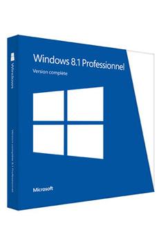 Logiciel WINDOWS 8.1 PRO Microsoft