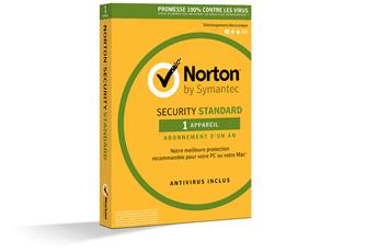 Logiciel Norton security Standard Symantec