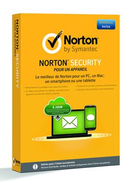 NORTON SECURITY 2015 (pour 1 Appareil)