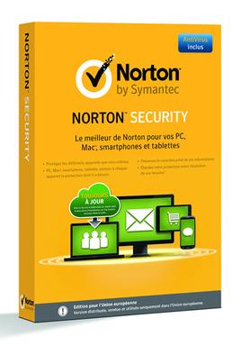 NORTON SECURITY 2015 (pour 5 Appareils)