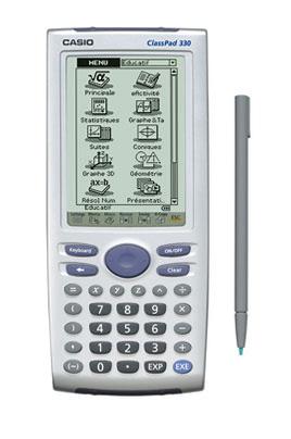 Calculatrice graphique Casio CLASSPAD 300/330