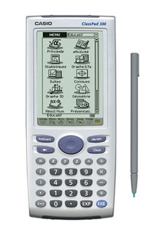 Calculatrice graphique CLASSPAD 300/330 Casio