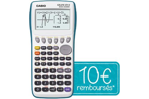 Calculatrice graphique GRAPH 35+E Casio