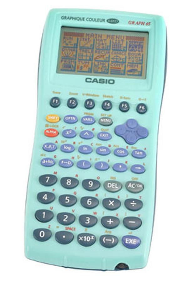 calculatrice graphique casio graph 65 usb vert graph65usb 2330750 darty. Black Bedroom Furniture Sets. Home Design Ideas