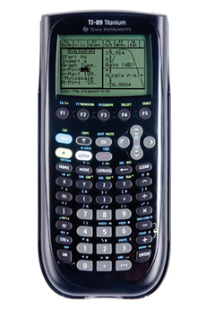 Calculatrice graphique TI-89 Texas Instruments