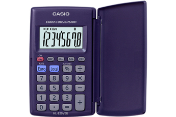 Calculatrice 4 opérations HL-820VER Casio