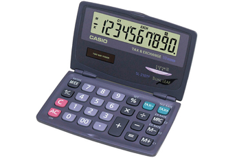 Calculatrice 4 opérations SL-210TE Casio