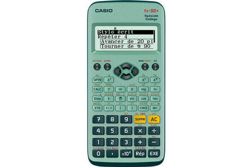 Calculatrice scientifique FX 92+ Spéciale Collège Casio