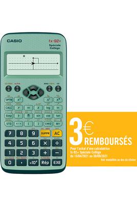 Casio FX 92+ Spéciale Collège