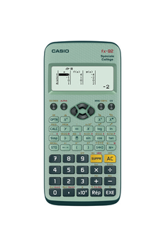 Calculatrice scientifique FX 92 Spéciale Collège Casio